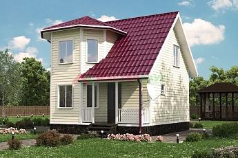 Каркасный дом Логичный